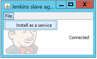 Jenkins Windows slave agent as a service | Virtualizatio'n