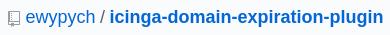 Check domain expiration GitHub