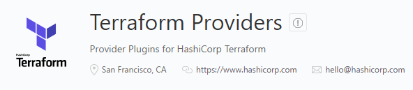 Separating Providers from the Terraform core